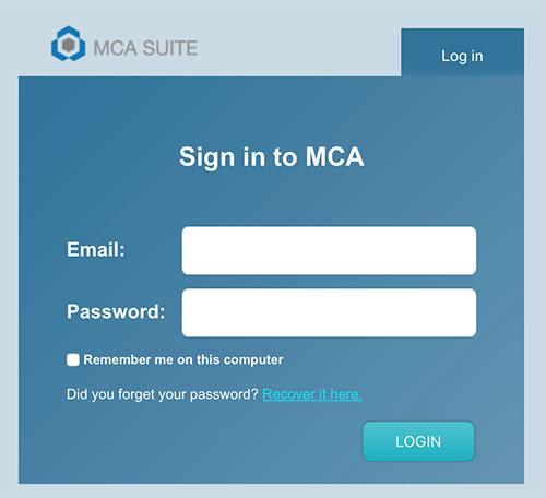 signin – MCA Suite